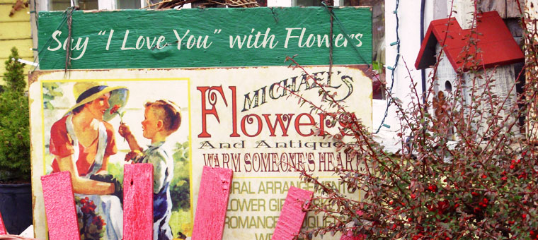 Michael's Flowers, Brown County, Indiana